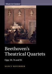 Beethoven's Theatrical Quartets