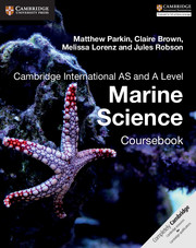 Cambridge International AS and A Level Marine Science