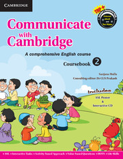 Communicate with Cambridge Level 2 Coursebook with ASL Poster and CD-ROM