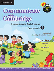 Communicate with Cambridge Level 3 Coursebook with ASL Poster and CD-ROM