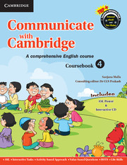 Communicate with Cambridge Level 4 Coursebook with ASL Poster and CD-ROM
