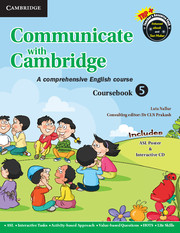 Communicate with Cambridge Level 5 Coursebook with ASL Poster and CD-ROM