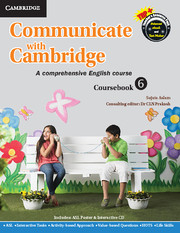 Communicate with Cambridge Level 6 Coursebook with ASL Poster and CD-ROM
