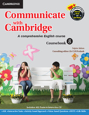Communicate with Cambridge Level 8 Coursebook with ASL Poster and CD-ROM