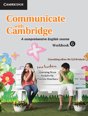 Communicate with Cambridge Level 6 Workbook