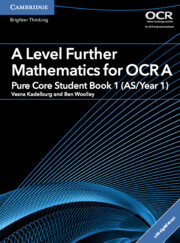 for OCR Pure Core Student Book 1 (AS/Year 1) with Cambridge Elevate edition (2 Years)
