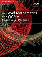 for OCR Student Book 1 (AS/Year 1)