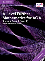 A Level Further Mathematics for AQA Student Book 2 (Year 2) with Cambridge Elevate Edition (2 Years)