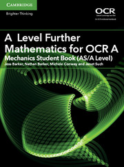 for OCR Mechanics Student Book (AS/A Level)