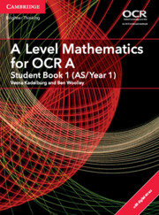 for OCR Student Book 1 (AS/Year 1) with Cambridge Elevate edition (2 Years)