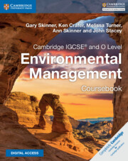 Cambridge IGCSE® and O Level Environmental Management Coursebook with Cambridge Elevate Enhanced Edition (2 Years)