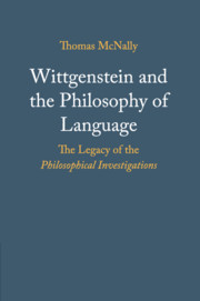 Wittgenstein and the Philosophy of Language