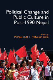 Political Change and Public Culture in Post-1990 Nepal