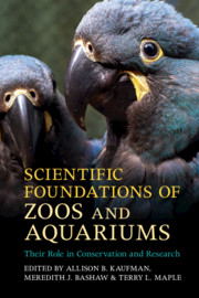 Scientific Foundations of Zoos and Aquariums