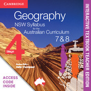 Geography NSW Syllabus for the Australian Curriculum Stage 4 Years 7 and 8 Digital Teacher Edition (Card)