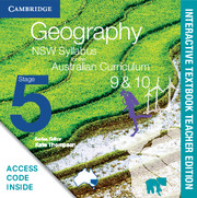 Geography NSW Syllabus for the Australian Curriculum Stage 5 Years 9 and 10 Digital Teacher Edition (Card)