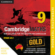 Cambridge Mathematics GOLD NSW Syllabus for the Australian Curriculum Year 9 Digital (Card)