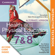 Health and Physical Education for the Australian Curriculum Years 7 and 8 Alternate Version Digital (Card)