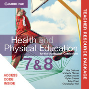 Health and Physical Education for the Australian Curriculum Years 7 and 8 Teacher Resource (Card)