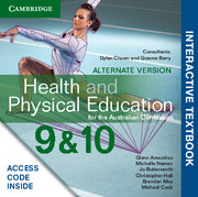 Health and Physical Education for the Australian Curriculum Years 9 and 10 Alternate Version Digital (Card)