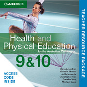 Health and Physical Education for the Australian Curriculum Years 9 and 10 Teacher Resource (Card)