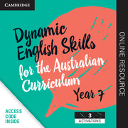 Dynamic English Skills for the Australian Curriculum Year 7 3 year subscription