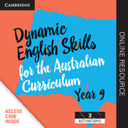 Dynamic English Skills for the Australian Curriculum Year 9 3 year subscription
