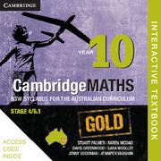 Cambridge Mathematics GOLD NSW Syllabus for the Australian Curriculum Year 10 Digital (Card)