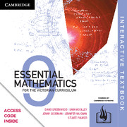 Essential Mathematics for the Victorian Curriculum Year 9 Digital (Card)