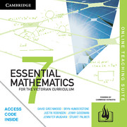 Essential Mathematics for the Victorian Curriculum Year 7 Online Teaching Suite (Card)