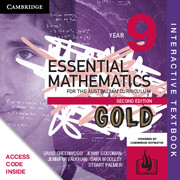 Essential Mathematics Gold for the Australian Curriculum Year 9 Digital (Card)