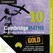 Cambridge Mathematics GOLD NSW Syllabus for the Australian Curriculum Year 10 Teacher Resource (Card)