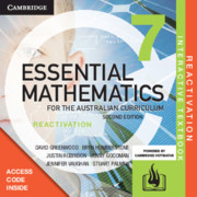 Essential Mathematics for the Australian Curriculum Year 7 Reactivation (Card)
