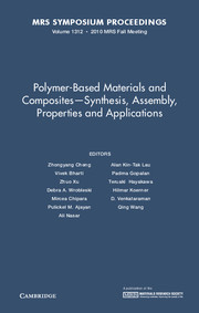 Polymer-Based Materials and Composites–Synthesis, Assembly, Properties and Applications