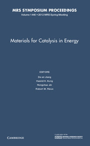 Materials for Catalysis in Energy