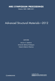 Advanced Structural Materials – 2012