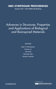 Advances in Structures, Properties and Applications of Biological and Bioinspired Materials
