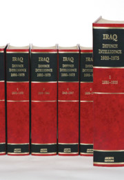 Iraq Defence Intelligence 1920–1973
