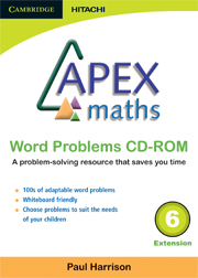 Apex Maths Word Problems CD-ROM 6 Extension