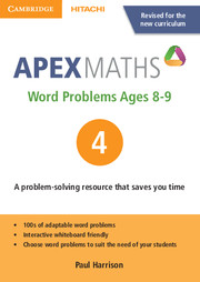 Apex Word Problems Ages 8-9 DVD-ROM 4 UK edition