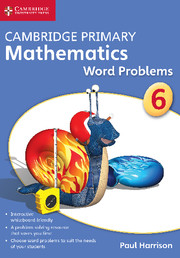 Cambridge Primary Mathematics Stage 6 Word Problems DVD-ROM