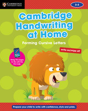 Cambridge Handwriting at Home: Forming Cursive Letters