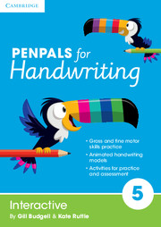 Penpals for Handwriting Year 5