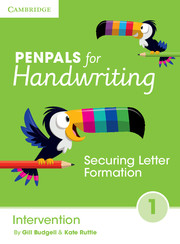 Penpals for Handwriting Intervention Book 1: Securing Letter Formation