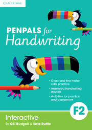 Penpals for Handwriting Foundation 2 Interactive