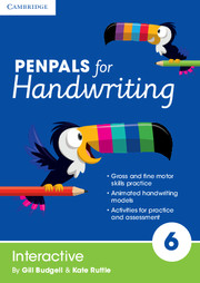 Penpals for Handwriting Year 6 Interactive
