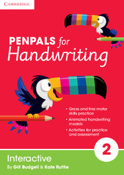 Penpals for Handwriting Interactive