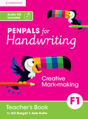 Penpals for Handwriting Foundation 1 Teacher's Book with Audio CD