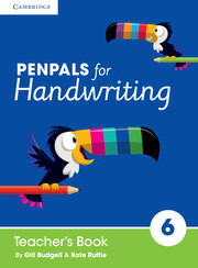 Penpals for Handwriting Year 6 Teacher's Book