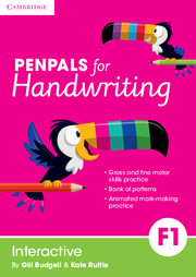 Penpals for Handwriting Foundation 1 Interactive